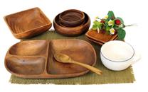 アカシア材食器